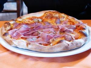 Pizzza prosciutto na dowóz